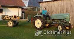 MAN -Schlepper Traktor 25 PS Sehr guter Originalzustand mit passendem Anhänger Foto 9