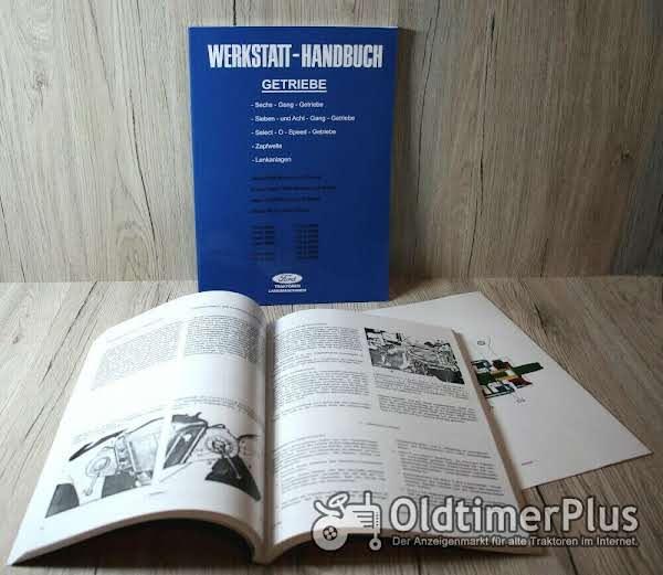 Ford Werkstatthandbuch Getriebe Traktor Dexta 2000 Super Dexta 3000 Major 4000 Super Major 5000 Foto 1