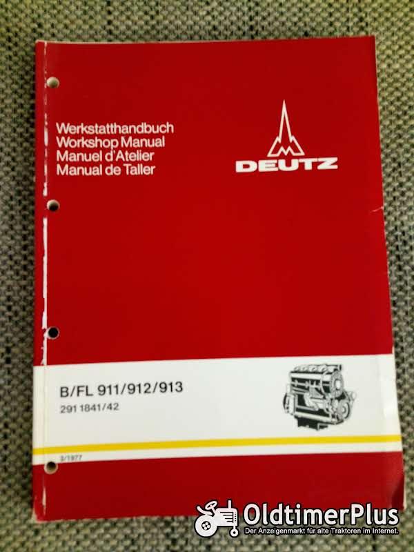 Deutz B/FL 911 912 913 Motoren Werkstatthandbuch Foto 1
