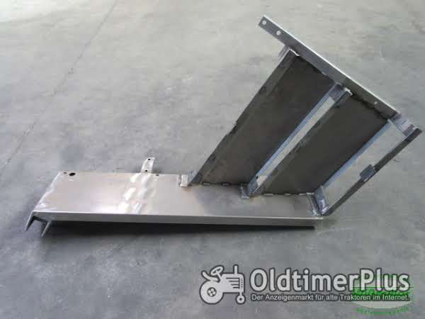 MB Trac 700 800 900 (1000, 1100) Kotflügel vorne 3-stufig 300mm breit Seitenschaltung Foto 1
