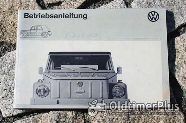 Betriebsanleitung VW 181 Kübelwagen 1974 Foto 1