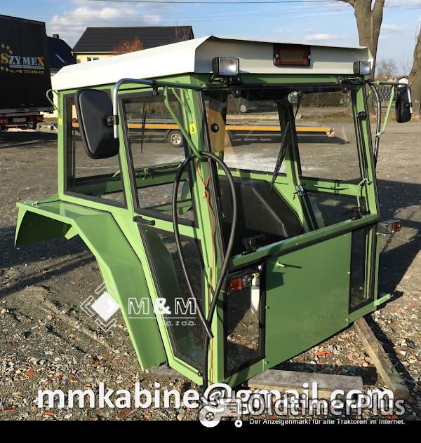 MM Universalkabine Traktorkabine Nr. 17b F106-108 für Traktor bis ca. 90PS Foto 1