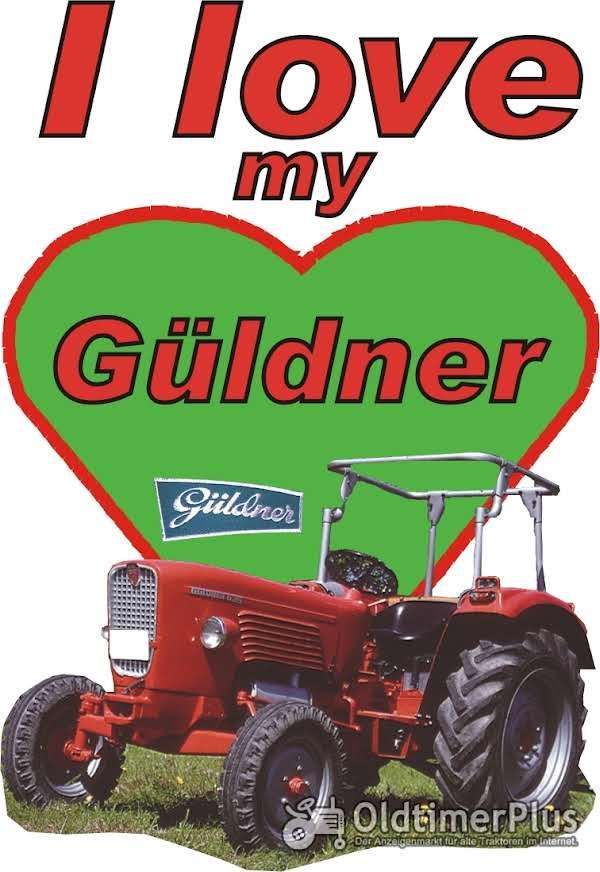 I love Güldner T-Shirt Foto 1