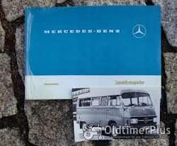 Literatur Betriebsanleitung Mercedes L 207 / 307 1976 Transporter Benziner