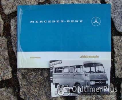 Betriebsanleitung Mercedes L 207 / 307 1976 Transporter Benziner Foto 1