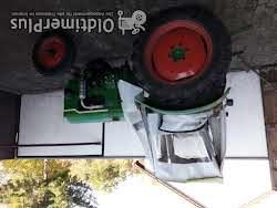 Deutz Traktor mit Einachshänger Foto 5