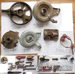 Rasspe Mähwerk, Fingerbalkenmähwerk, Ersatzteile, Sortiment B