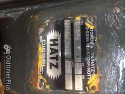 Hatz Stationar Motor E88-FG Foto 2