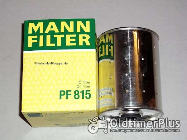 MANN Ölfilter PF815 für Deutz Schlepper Foto 1