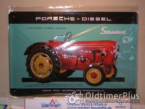 PORSCHE-DIESEL Standard Blechschild Foto 1