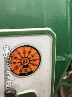 Deutz D4005 Frontlader Kat. 2 hydraulische Lenkung, viele Neuteile Foto 5
