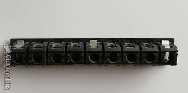 Deutz Kontrollleuchtenleiste 220 mm lang Foto 1
