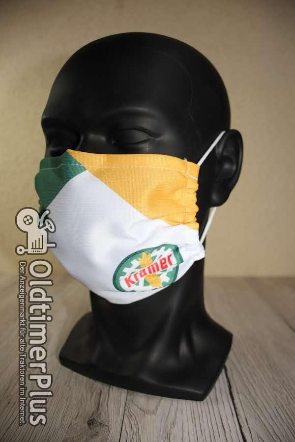 Kramer *Maske*Behelfsmasken Mund-Nasenabdeckung*Mundnasenabdeckung* Traktor Foto 1