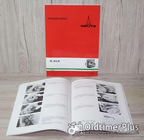 Deutz Werkstatthandbuch Motor FL413R Foto 1