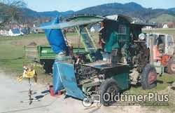 Firma Kälble Mobile Säge- und Spaltmaschine