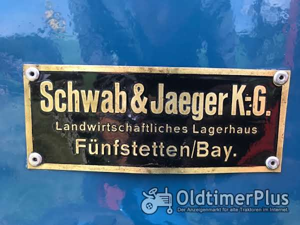 Sonstige Schwab & Jaeger Fünfstetten Händlerschild - Lanz - Eicher - Güldner - Mc Cormick Foto 1