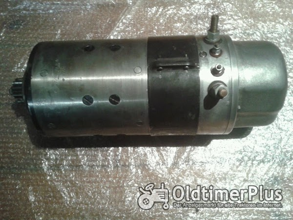 Bosch Anlasser AL/FTB10/24r7 für Deutz 10 und 12 zyl. Foto 1