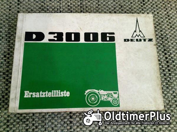 Deutz D3006 Ersatzteilliste Foto 1