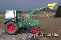 Fendt Farmer 3 S mit Frontlader Foto 2