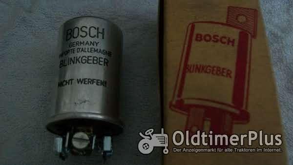Bosch 0336102023 SH/BVD 6 B 2 BLINKGEBER 6V 3 mal 15W NEU Foto 1