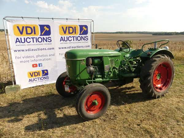 Deutz D 25  VDI-Auktionen Februar Classic Traktor 2019 Auktion in Frankreich  ! photo 1