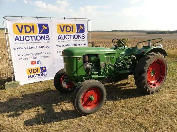Deutz D 25  VDI-Auktionen Februar Classic Traktor 2019 Auktion in Frankreich  ! foto 1