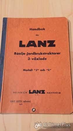 Literatur Lanz Bulldog Betriebsanleitung für 20 und 25 PS Bulldog