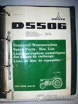 D 15.1 - D 8006 Ersatzteil-Nummernliste für Deutz-Schlepper   Foto 4