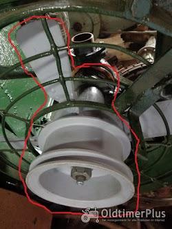 HSCS 30-35 Schlepper: Wasserpumpe & Fan und 4 Kühler, Zylinderkopf (Kein Lanz) Foto 2