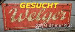 Welger Suche 20 Km Schilder,  Schilder, Typenschilder und Rückstrahler Foto 2