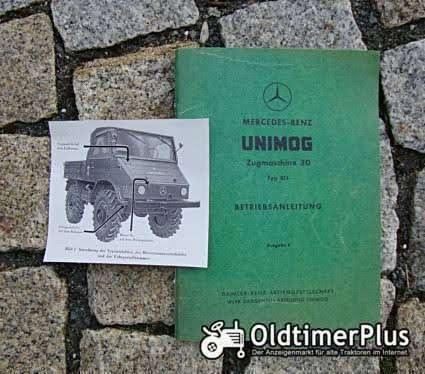 Betriebsanleitung Unimog 411 1961 Foto 1
