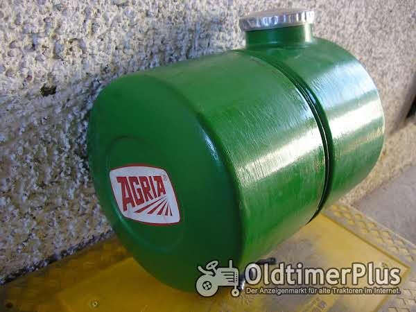 Agria Benzintank mit Deckel Foto 1