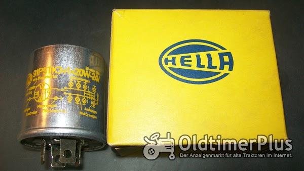 Hella 91 PSTK 3+1+20W-24V BLINKGEBER  4NW 001819-02 NEU Foto 1