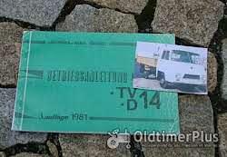 Betriebsanleitung Barkas Framo V901 /2 Kleinlieferwagen 1960 Foto 13