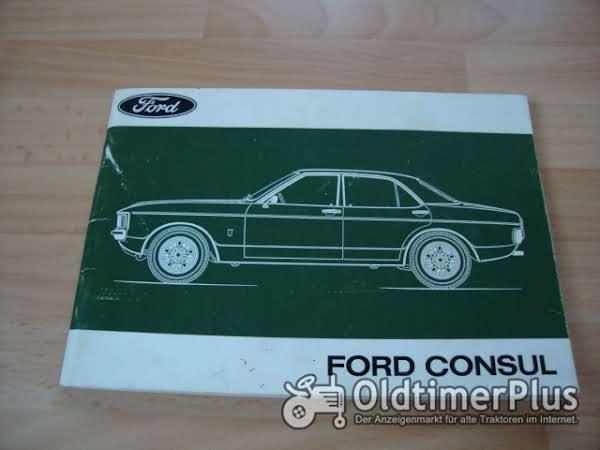 orig. Betriebsanleitung Ford Consul 1973 Granada I Foto 1