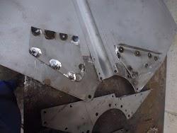 Hanomag R Serie Kotflügelverstärkungsblech Foto 5