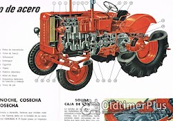 Hanomag R 75 Super traktor Prospekt aus Argentinien Foto 2