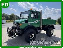 Mercedes Unimog U1500 Agrar, 95 km/h,