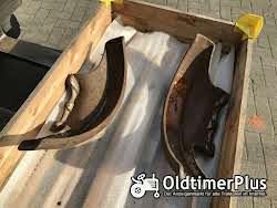 Lanz  HL 12 Kettenschutz, Kotflügel um die Ketten, Gußteile Links und Rechts Foto 6
