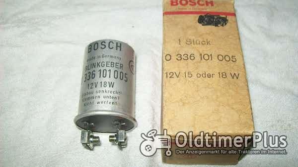 Bosch 0336101005 BLINKGEBER 12V 15 oder18W neu Foto 1