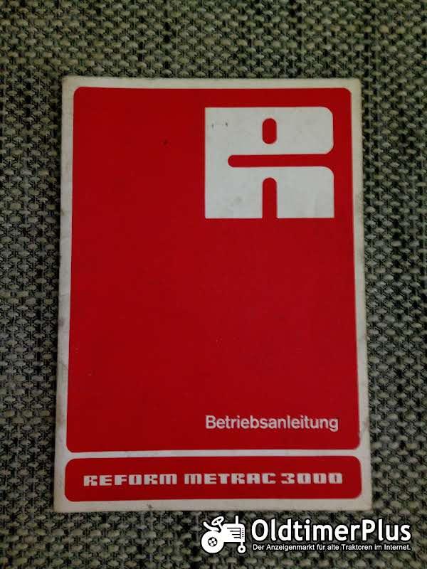 Reform Metrac 3000 Betriebsanleitung Foto 1