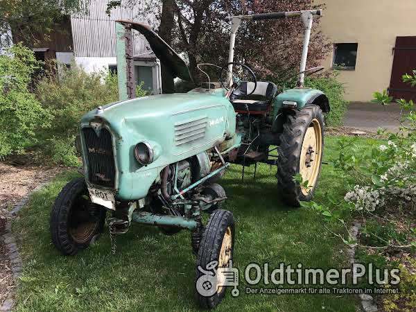 MAN 8515 M 172 Dieselmotor Foto 1
