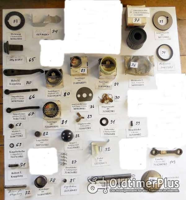 IHC Ersatzteile, Schlepperteile, Sortiment C Foto 1