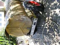 Platz Wasserfaßwagen mit Pumpe Foto 3