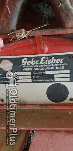 Eicher Ladewagen typ 7061 Ladewagen Foto 4