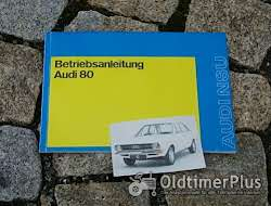 Literatur Betriebsanleitung Audi 80 L / S / LS / GL 1972 1973