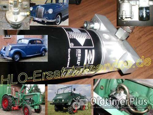 Unimog U411 U2010 U401 Ölfilter Adapter Umbausatz Ölfilterumbausatz Foto 1