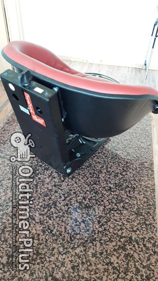 star Oldtimersitz für Traktoren Universal Traktorsitz Schleppersitz Foto 1