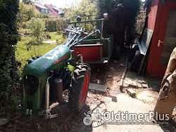 Bungartz Einachstraktor L5D mit Anhänger Foto 5