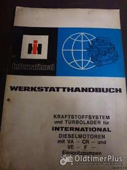 Literatur Werkstatthandbuch IHC f. Dieselmotoren